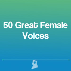 Picture of 50 Great Female Voices