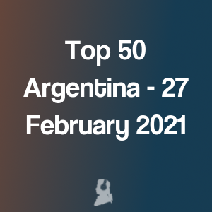 Picture of Top 50 Argentina - 27 February 2021