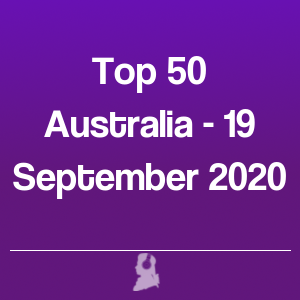 Picture of Top 50 Australia - 19 September 2020