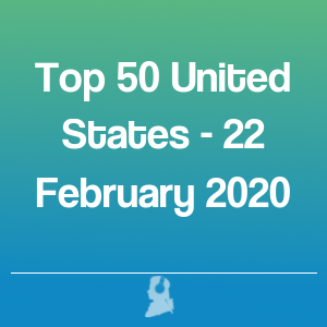 Picture of Top 50 United States - 22 February 2020